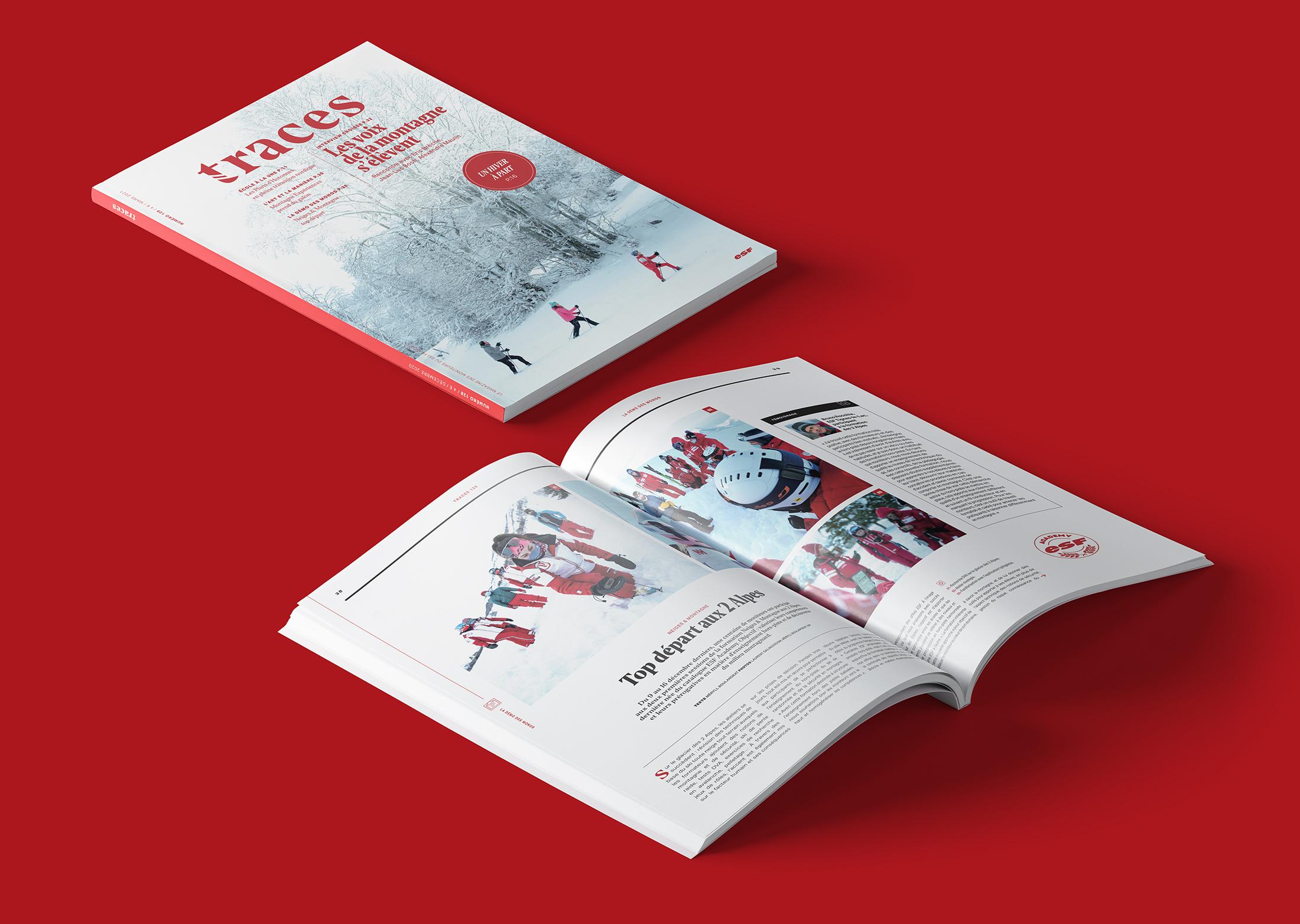 Traces, le magazine des esf